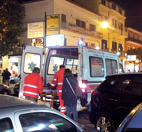 Marigliano, incidente mortale in via Risorgimento