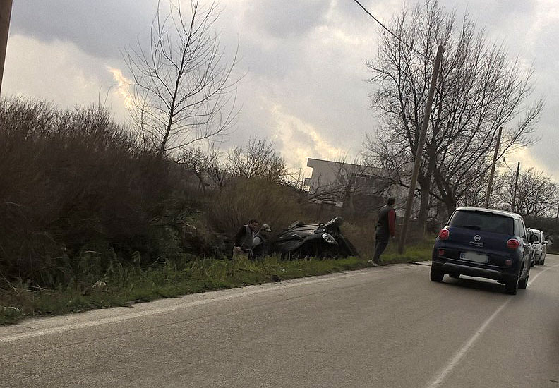 Marigliano, pauroso  incidente in via Masseriola
