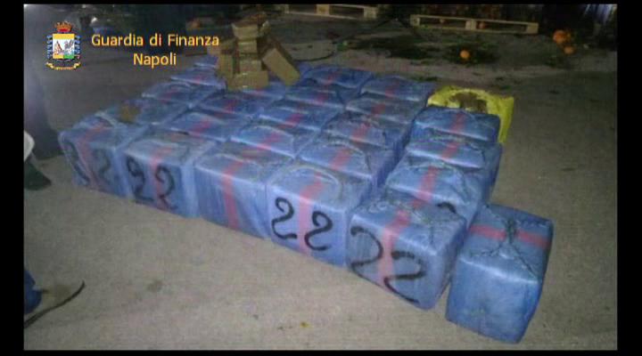 Un kg cocaina e 34 kg hashish, arrestato