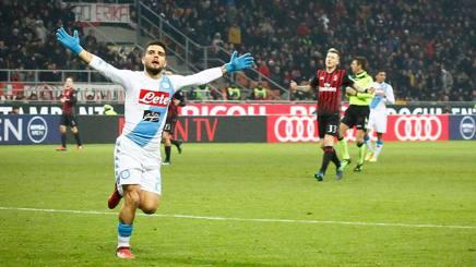 Napoli-Juventus, Insigne: