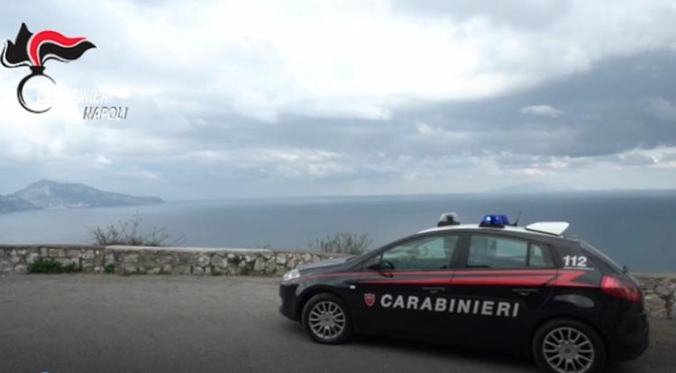 Napoli: rubano in villa sulla costiera amalfitana