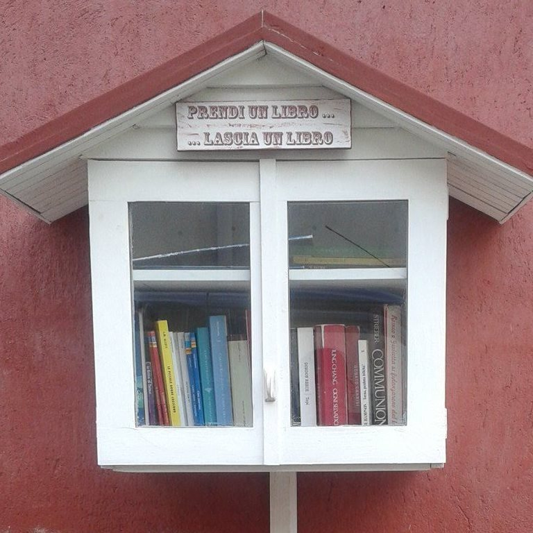 Saviano, Manet alla Little Free Library