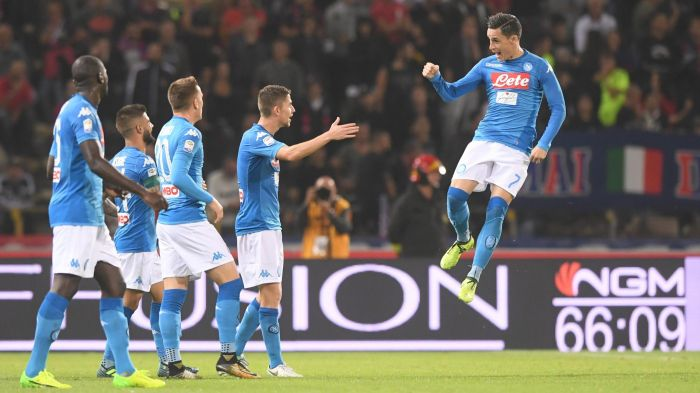 Callejon, Mertens e Zielinski: Napoli cala il tris a Bologna