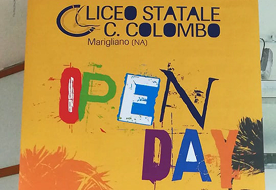 Marigliano, Open Day al Liceo Colombo