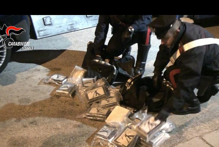 Droga dal Marocco, 31 arresti