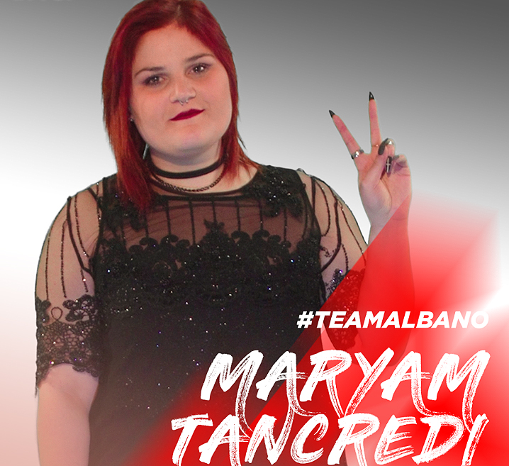 Standing ovation  per Maryam Tancredi a The Voice: entra nel team di Al Bano.