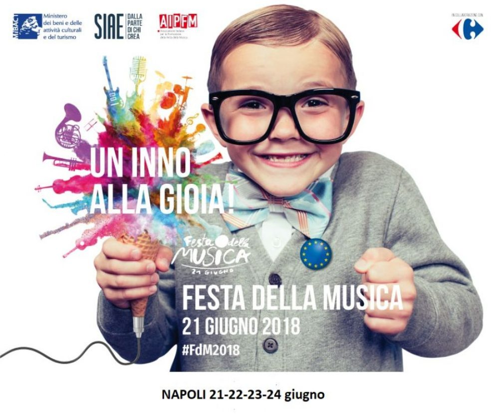 Il benevenuto all'estate con la festa europea della musica