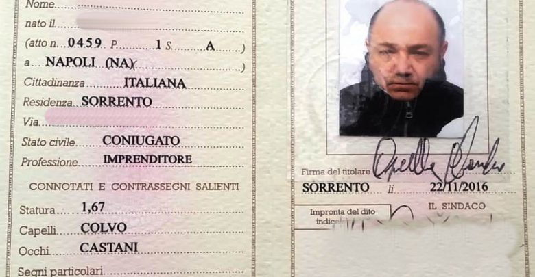 Arrestato 36enne del salernitano, camminava con documento falso