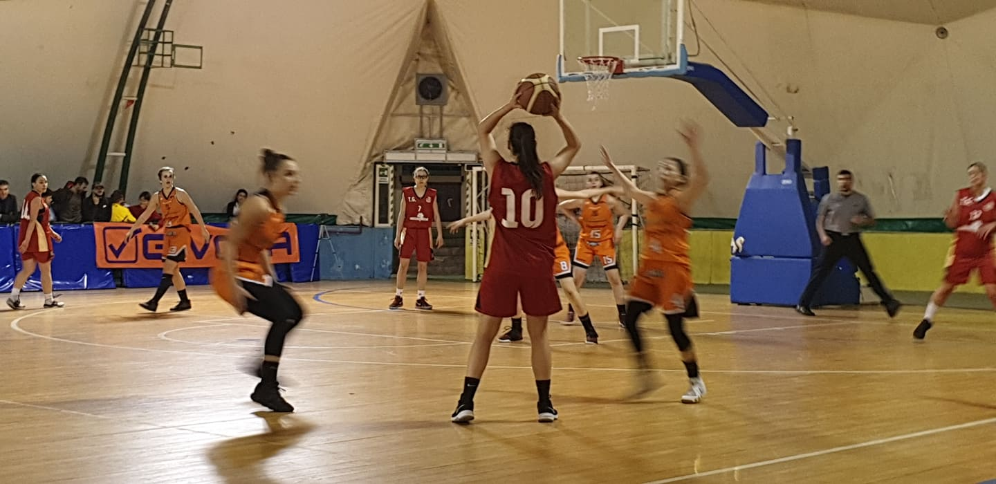 Givova Ladies Scafati - New Cap Marigliano  49 - 57