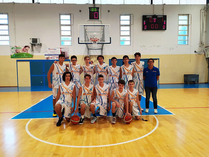 Promobasket Marigliano - One team basket 26 - 80