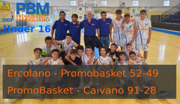 Tilgher Ercolano - A.D. Promobasket Marigliano 52-49