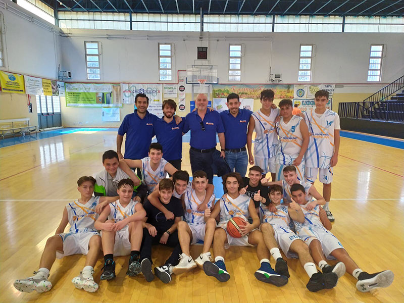 A.D. PromoBasket Marigliano-A.S.D. Pall. Caivano 91-28