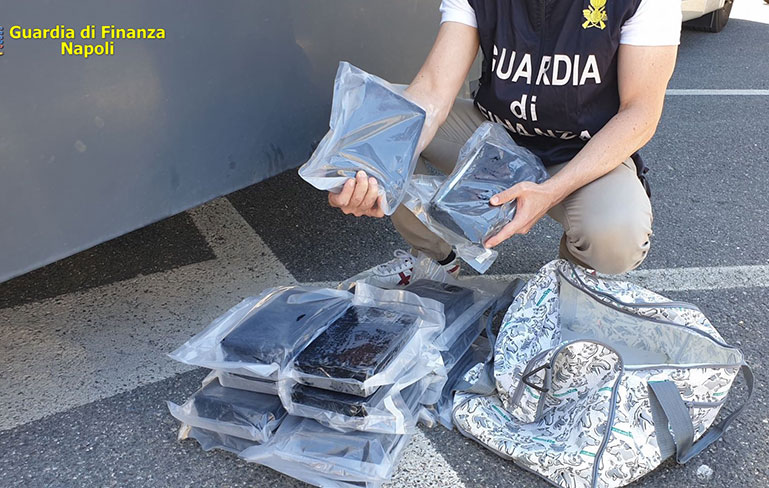 Sequestrati oltre 17 kg Di cocaina