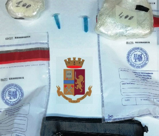 Droga in un borsello:  arrestato 33enne