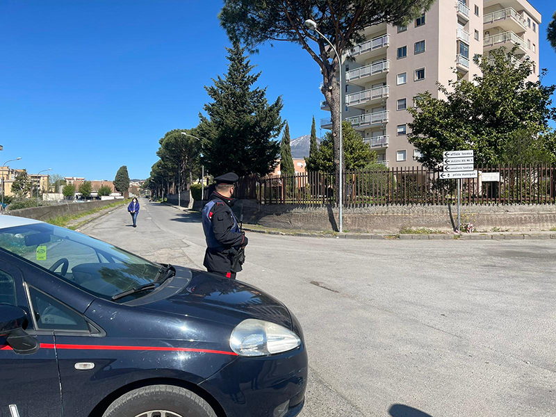 Vesuviano, controllo del territorio: 28 multe, 3 auto sequestrate e 3 patenti ritirate