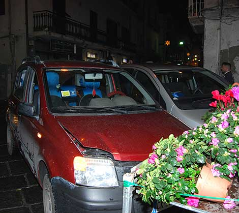 Marigliano, spavento in centro: incidente in via Giannone