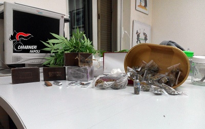 Droga nel camino, 57enne in manette a Sant'Antimo